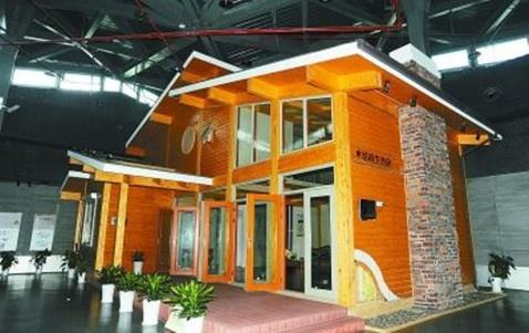 7.5米高木结构生态房 绿色建筑的典型示范