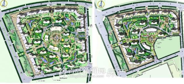 手绘苗圃规划设计图