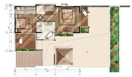 180平方二层别墅设计图
