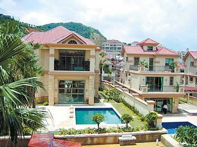 豪宅房子平面设计图