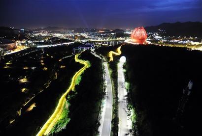 青岛规划建设世园生态新区