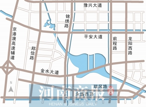 郑州北三环东延隧道将全线通车 去龙湖看风景更通畅