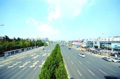 市北重庆路改造工程通车1周年效益评估