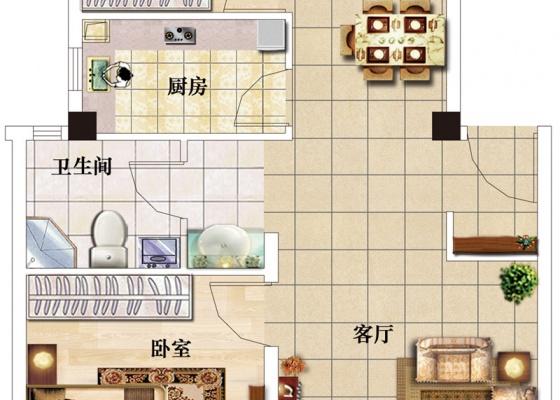奥青城户型图