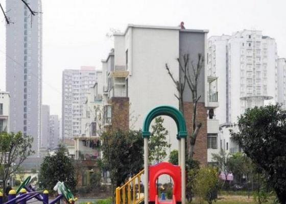 明华龙洲半岛四期老街古镇