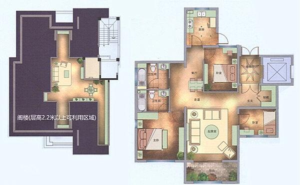 设计图分享 90平方厅装修设计图 > 135平方客厅设计图  135平方客厅