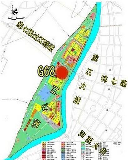 新纬壹江岛新天地位置图