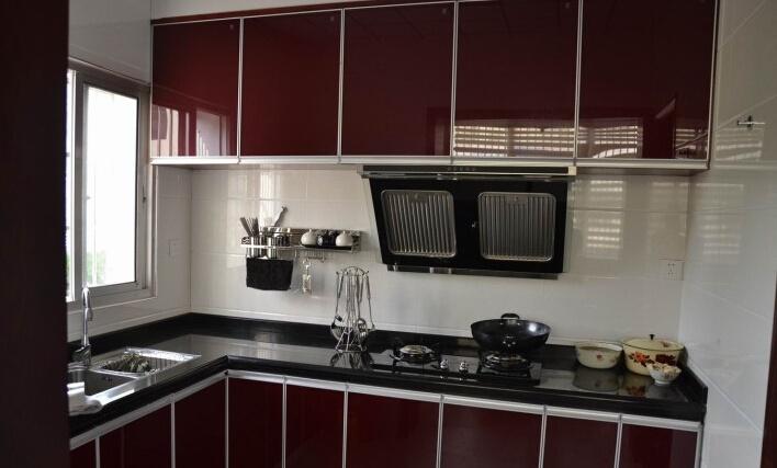 农村厨房橱柜效果图