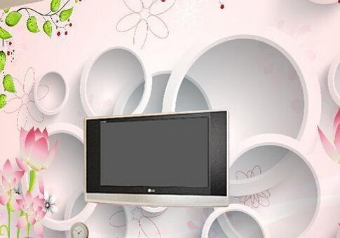 装修风水 电视背景墙给客厅增加光彩