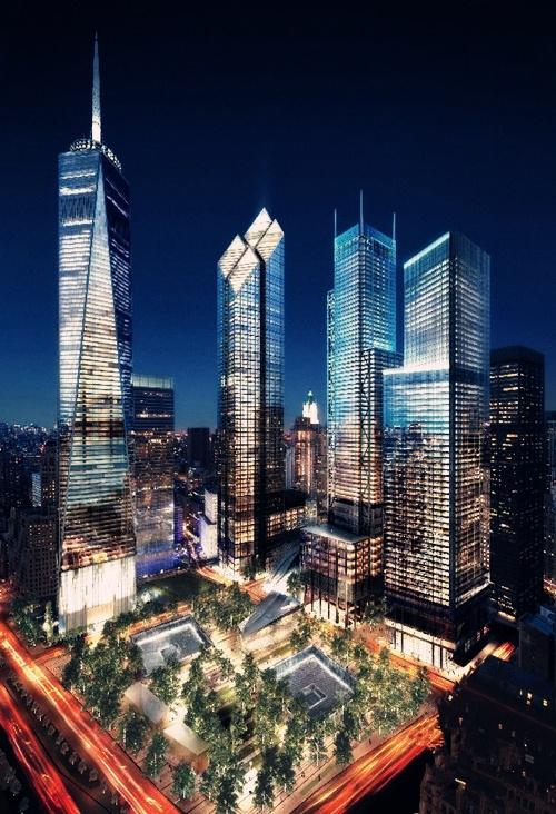 """在纽约著名的世贸双子塔在""""9·11"""""""