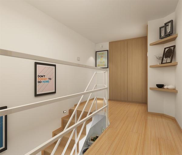 55平loft公寓装修图