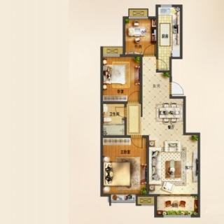 小高层29#d3户型[在售]