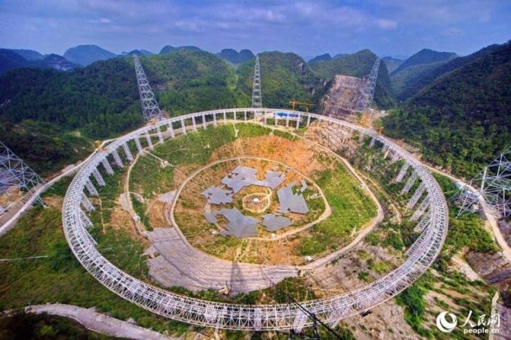 国庆前夕,随着长度3.5千米的10千伏高压线缆通过耐压测试、变电站设备调试完成,中科院国家天文台50