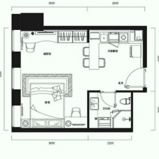 公寓标准层G户型
