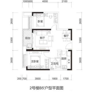 2号楼B5·户型【售完】