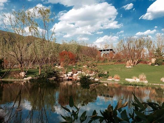 北京优秀示范区正式示范作品天著春秋开放西山之美风景园林设计快题最美远洋图片