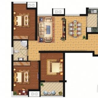 C2-2室2厅1卫-85.00㎡
