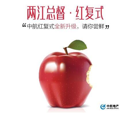 """中航樾广场推出的中航""""红复式""""精装户型王3"""