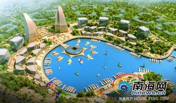 三亚市创意产业园位于三亚市崖州区崖洲湾,总规划面积约17平方公里.图片