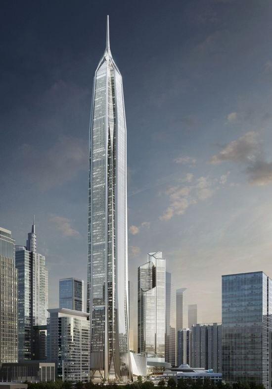 2016年全球十大新建摩天楼 六座来自中国