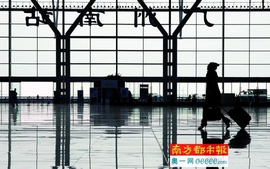 广州南站地区规划结构划分成
