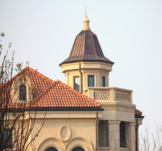 欧式古典建筑正立面