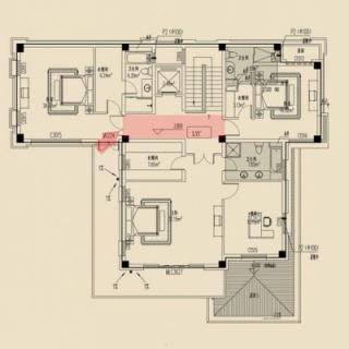 Y1房型1F平面布局图