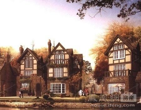 英郡华府在售联排别墅总价600-900万