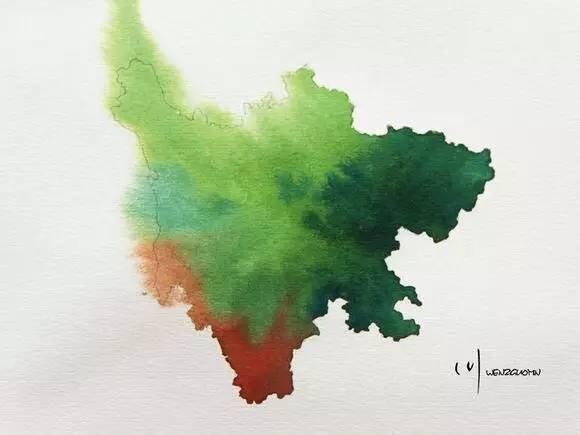 最有创意的中国地图,你绝对想不到家乡竟然这么美!图片