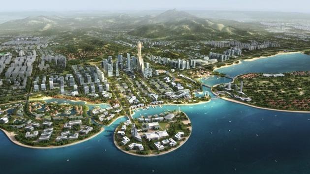 西海岸新区建201项市政工程