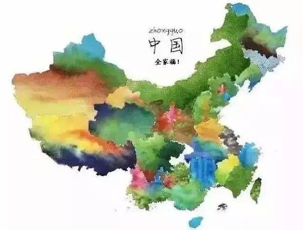 最有创意的中国地图 你绝对想不到家乡竟这么美