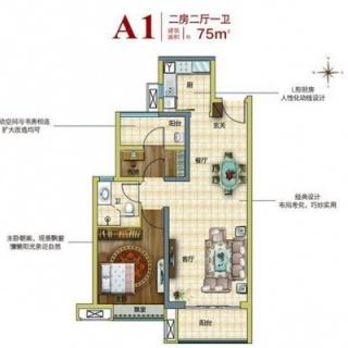 A1户型两房