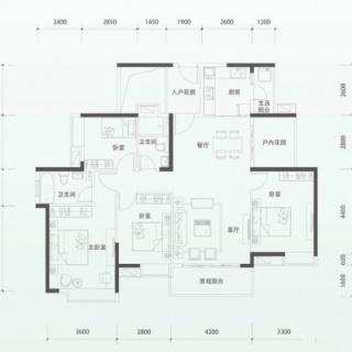 二期洋房G1单元