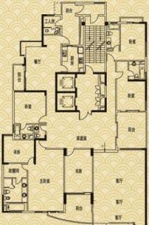 L5户型图(8、10、12、14、16层)