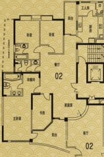 L4户型02单元(8、10、12、14、16层)户
