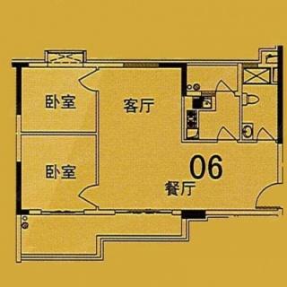 10座(F1座)06单位户型图