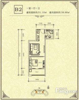 1#-B2户型图