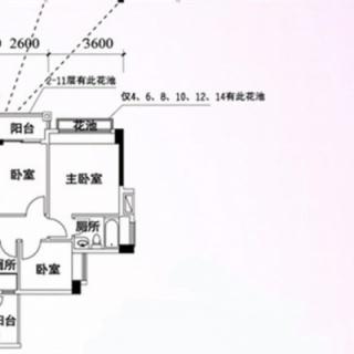 杏苑阁06单位户型图