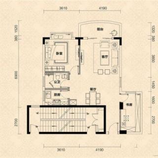D栋05单元户型图
