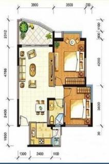 公寓户型A1