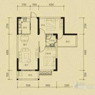 两室两厅一厨一卫20130618(3)