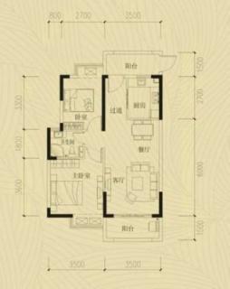 两室两厅一厨一卫20130618(2)