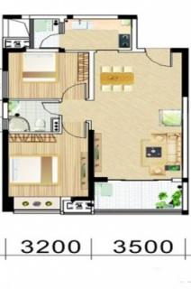 两房两厅户型