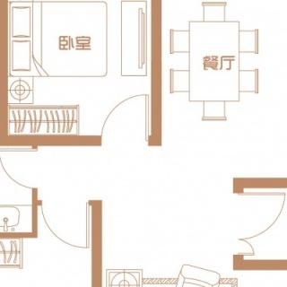 11,12号楼首层户型(一)