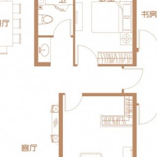 1号楼首层户型(二)