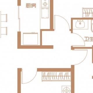 11,12号楼首层户型(二)