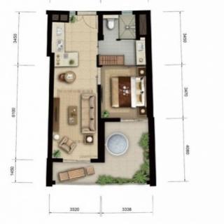 海景公寓 b1/b4户型图