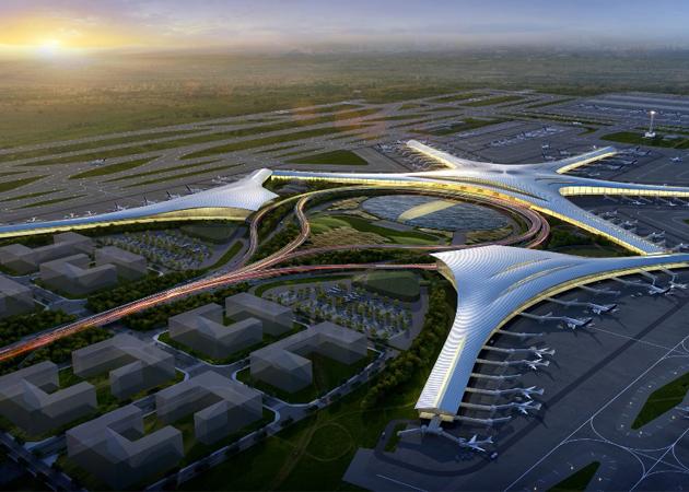 按照青岛新机场周边道路规划
