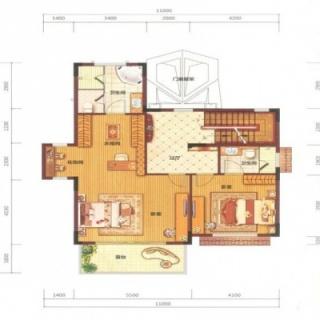 艺墅B1户型2层