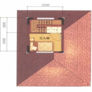 御墅A2-02户型4层